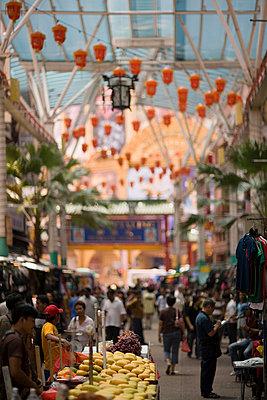 Kuala lumpur chinatown - p9249103f by Image Source