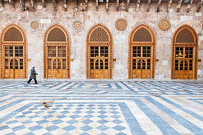 Umayyaden-Moschee in Aleppo, Syrien - p1493m2064001 von Alexander Mertsch