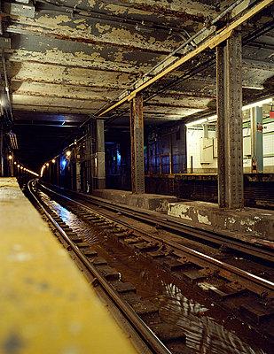 New York Subway - p4140107 von Volker Renner