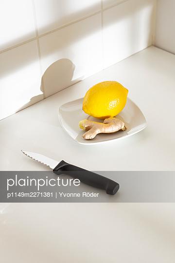 Zitrone und Ingwer - p1149m2271381 von Yvonne Röder