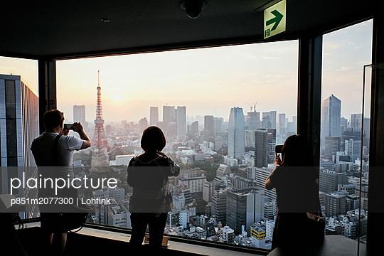 Skyline of Tokyo - p851m2077300 by Lohfink