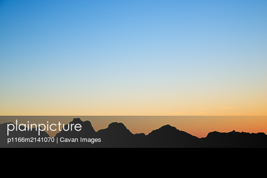 Sunrise in Canfranc Valley - p1166m2141070 by Cavan Images