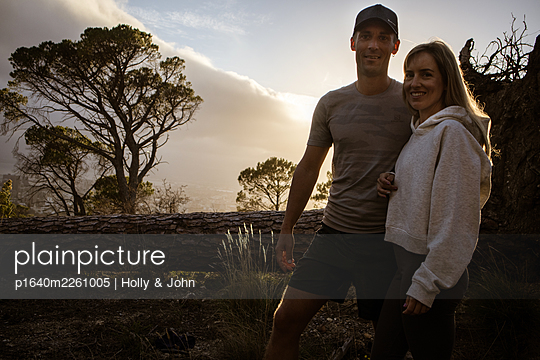 Couple goes on an excursion at sunset - p1640m2261005 by Holly & John
