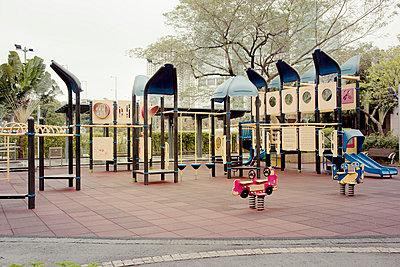 Spielplatz in Hongkong - p6560078 von W. Hannes