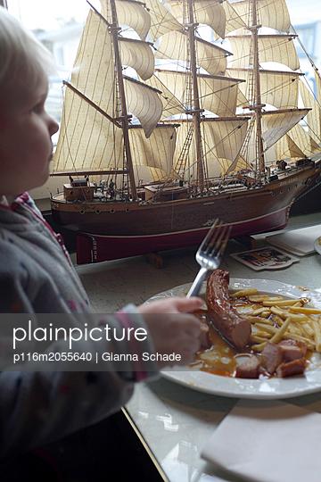 Ich will Pommes  - p116m2055640 von Gianna Schade