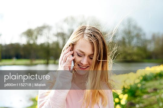 Telefonieren - p890m1152718 von Mielek