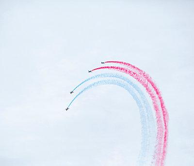 Flugshow, Armée de l'Air, Patrouille de France - p1113m959700 von Colas Declercq