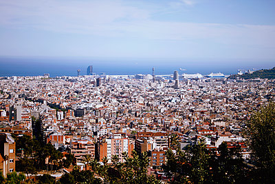 View of Barcelona - p991m1208112 by Metin Fejzula