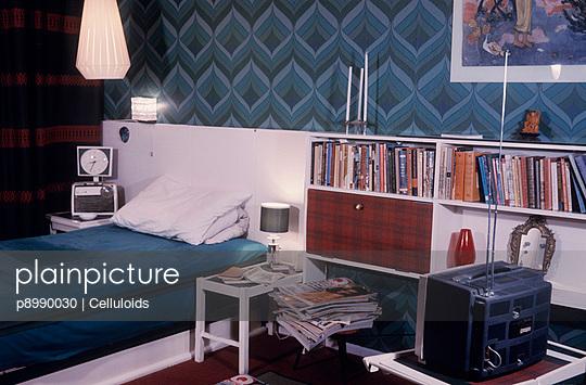 Blaues Schlafzimmer - p8990030 von Celluloids