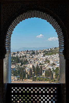 View to Granada - p1146m2150541 by Stephanie Uhlenbrock