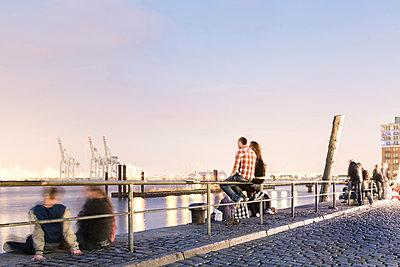 Fischmarkt Hamburg - p1222m1021232 von Jérome Gerull