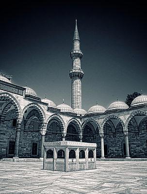 Blaue Moschee - p1445m2134272 von Eugenia Kyriakopoulou