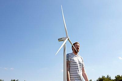 Windkraft - p851m800766 von Lohfink