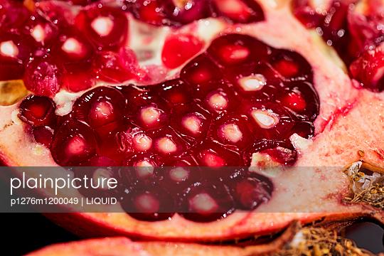 Granatapfel Nahaufnahme - p1276m1200049 von LIQUID