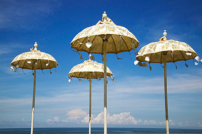 Decorated parasols - p8870024 by Christian Kuhn