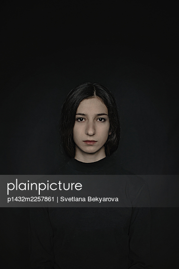 Girl in black - p1432m2257861 by Svetlana Bekyarova