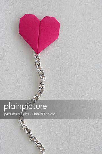 Origami Herz    - p450m1502861 von Hanka Steidle