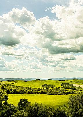 Tuscany landscape - p968m987192 by Roberto Pastrovicchio