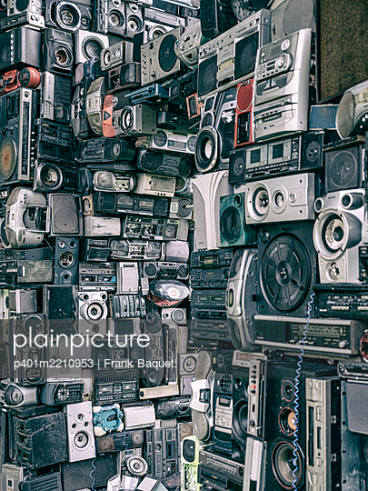 Old electrical appliances - p401m2210953 by Frank Baquet