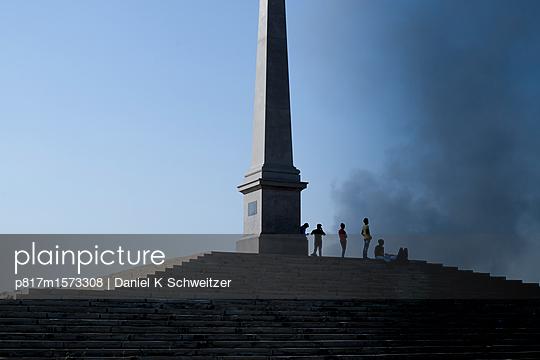 Coronation Park, Queen Victoria - p817m1573308 von Daniel K Schweitzer