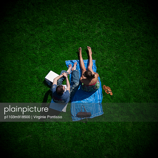 Picnic - p1103m918500 by Virginie Pontisso