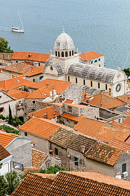 St. Jakobs-Kathedrale in Sibenik - p1085m854331 von David Carreno Hansen