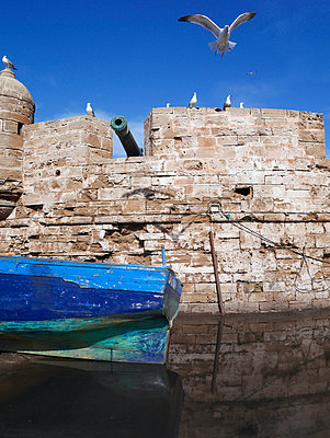 Wall of a castle - p1021m955813 by MORA
