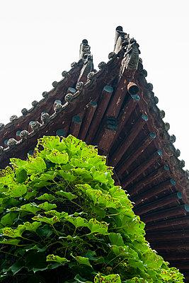 Chinese temple - p1682m2260756 by Régine Heintz