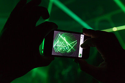 Getting festival on smartphone camera - p972m1160346 by Sesse Lind