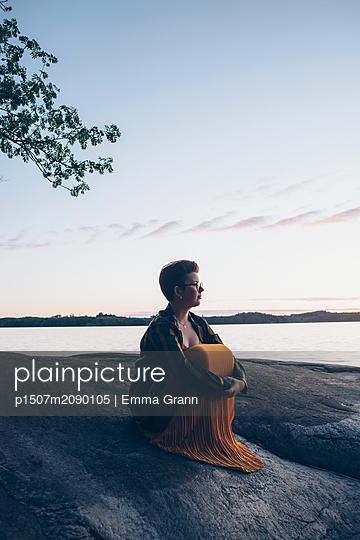 The Lake - p1507m2090105 by Emma Grann