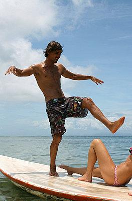 Spaß am Strand - p0451672 von Jasmin Sander