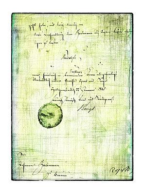 Alter Brief - p4510721 von Anja Weber-Decker