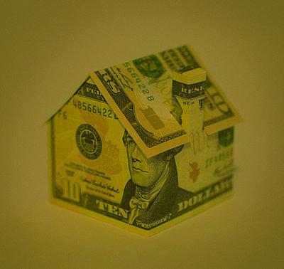Green ten dollar house - p1072m2151272 by Neville Mountford-Hoare