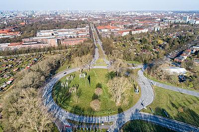 Horner Kreisel in Coronazeiten - p1079m2173905 von Ulrich Mertens