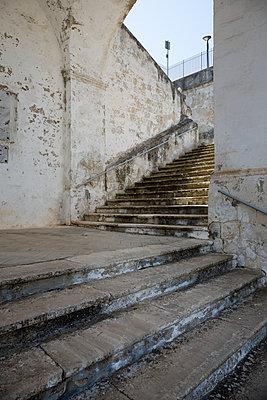 Treppe zur Kirche Madonna della Scala - p1032m1466368 von Fuercho