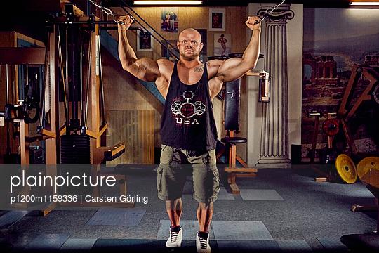 Bodybuilding - p1200m1159336 von Carsten Görling