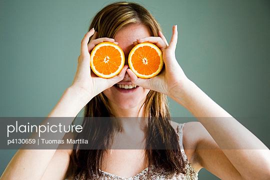 Two oranges - p4130659 by Tuomas Marttila