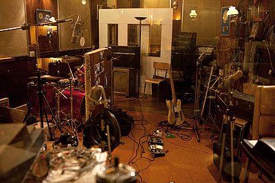 Recording studio - p675m922809 by Marion Barat