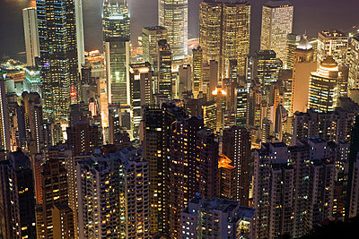 Hong kong cityscape - p9246139f by Image Source