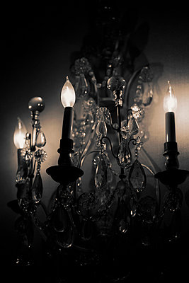 Chandelier - p4950241 by Jeanene Scott