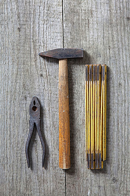 Drei Werkzeuge - p4540968 von Lubitz + Dorner