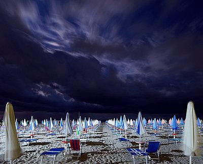 Beach at night - p719m715592 by Rudi Sebastian
