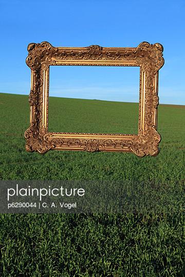 Barocker Bilderrahmen - p6290044 von C. A. Vogel