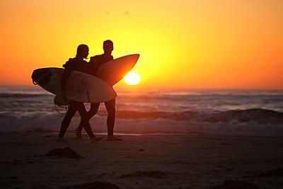 Surfer - p1217m1146042 von Andreas Koslowski