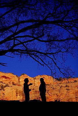 Keet Seel Canyon Hikers - p3430140 by David McLain