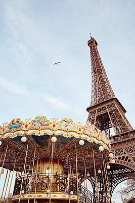 Blick auf den Eiffelturm - p432m1217149 von mia takahara