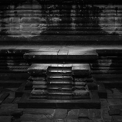 Temple in Angkor Wat - p1160m1194650 by Emilie Reynaud