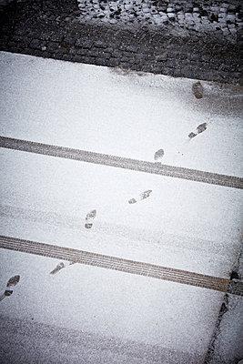 Spuren im Schnee - p1272m1333311 von Steffen Scheyhing