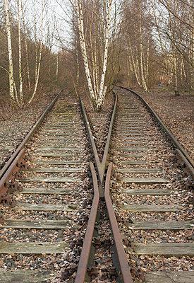 Bahnschienen - p2500397 von Christian Diehl