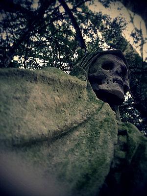 Cologne, North Rhine-Westphalia, Germany, Grim Reaper, Melatenfriedhof - p300m1008491f by Jan Tepass